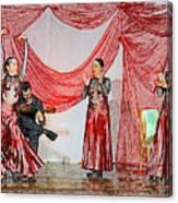 Flamenco Show Nr 4 Canvas Print