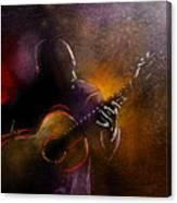 Flamencoscape 14 Canvas Print