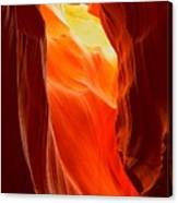 Flames At Upper Antelope Canvas Print