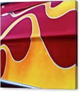 Flames Canvas Print