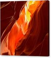 Flames Under Arizona  Canvas Print