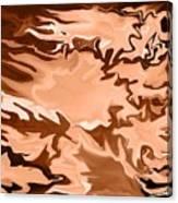 Flaming Horse   -023 Canvas Print