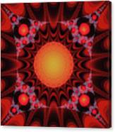 Flaming Sol Canvas Print