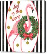 Flamingo Amore 2 Canvas Print