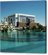 Flamingo Casino/hotel Canvas Print