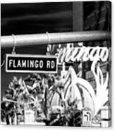 Flamingo Road Las Vegas Canvas Print