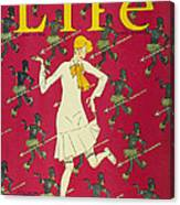 Flapper Cover, 1926 Canvas Print