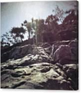 Flare Rock Canvas Print