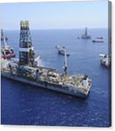 Flaring Operations Conducted Canvas Print