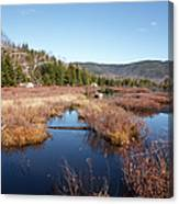 Flat Mountain Ponds - Sandwich Wilderness White Mountains Nh Canvas Print