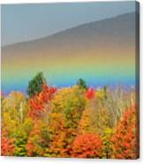 Flat Rainbow Canvas Print