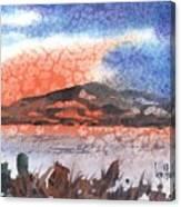 Flathead Lake Montana Canvas Print