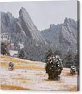 Flatiron Meadows - Boulder Colorado Canvas Print