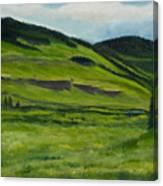 Flattops Wilderness Canvas Print