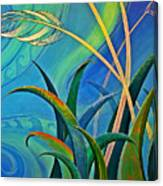 Flax Harakeke By Reina Cottier Canvas Print