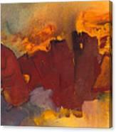 Fleeing The Inferno Canvas Print