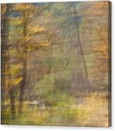 Fleeting Autumn Canvas Print