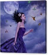 Fleeting Beauty Canvas Print