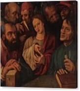 Flemish Artist 16 17th Century. Canvas Print