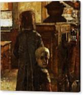 Flemish Tavern Canvas Print