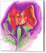 Fleur D'amour Canvas Print