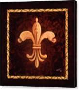 Fleur De Lys-king Charles Vii Canvas Print