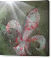 Fleur Di Lis Canvas Print