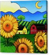 Fleur Du Soleil Canvas Print