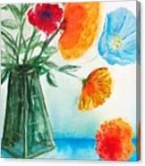 Fleur Primitiv Canvas Print