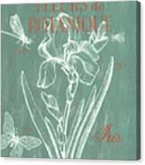 Fleurs De Botanique Canvas Print