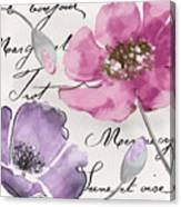 Fleurs De France IIi Canvas Print