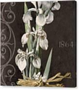 Fleurs De Paris II Canvas Print