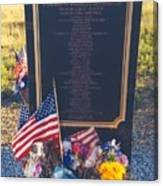 Flight 93 Heros Canvas Print