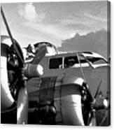 Flight Check Canvas Print