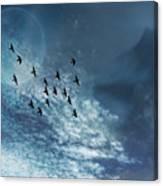 Flight Of Dreams Canvas Print