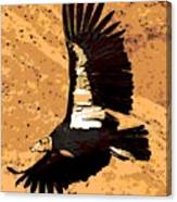 Flight Of The Condor Canvas Print