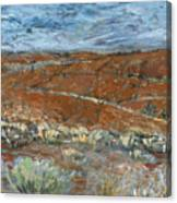 Flinders Ranges Canvas Print