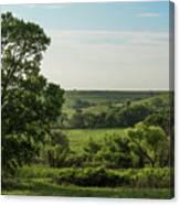Flint Hills Landscape 784 Canvas Print
