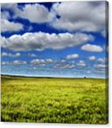 Flint Hills Panorama 1 Canvas Print