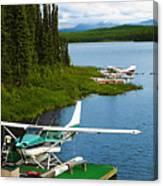 Float Planes Canvas Print