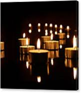 Floating Candles Canvas Print