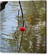Floating Flower Canvas Print