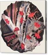 Floating Gingko Canvas Print