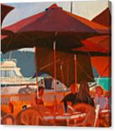 Floating Restaurant Canvas Print