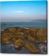 Floating Rocks Canvas Print