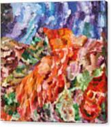 Flock Canvas Print