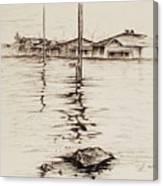 Flood St. Canvas Print