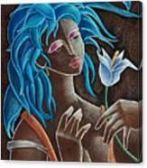 Flor Y Viento Canvas Print