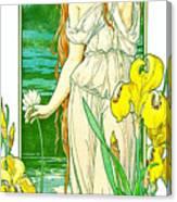 Flora 1905 Canvas Print