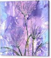 Flora Haze Canvas Print